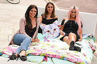 Abbie Holborn, Sophie Hasaei and Chloe Ferry<br /> Cast members of Geordie Shore take Shag Pad on Tour to launch series 15, London. <br /> <br /> <br /> &copy;Ash Knotek  D3293  10/08/2017