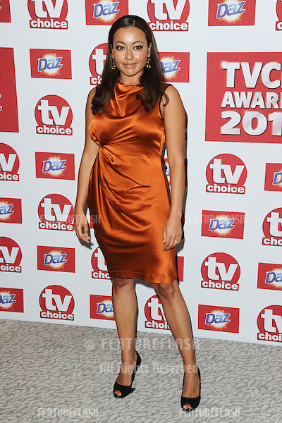 Jaye Jacobs arriving for the 2012 TVChoice Awards, at the Dorchester Hotel, London. 10/09/2012. Picture by:  Steve Vas / Featureflash