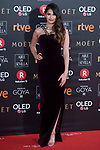 Sara Salamo attends red carpet of Goya Cinema Awards 2018 at Madrid Marriott Auditorium in Madrid , Spain. February 03, 2018. (ALTERPHOTOS/Borja B.Hojas)