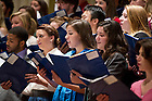 Nov. 2, 2012; The nineteenth annual Notre Dame Folk Choir concert for the Holy Cross Missions in the Basilica of the Sacred Heart. Photo by Barbara Johnston/University of Notre Dame
