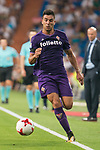 Fiorentina's Giovanni Simeoni during XXXVIII Santiago Bernabeu Trophy at Santiago Bernabeu Stadium in Madrid, Spain August 23, 2017. (ALTERPHOTOS/Borja B.Hojas)