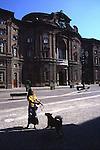Palazzo Carignano nell'omonima piazza.