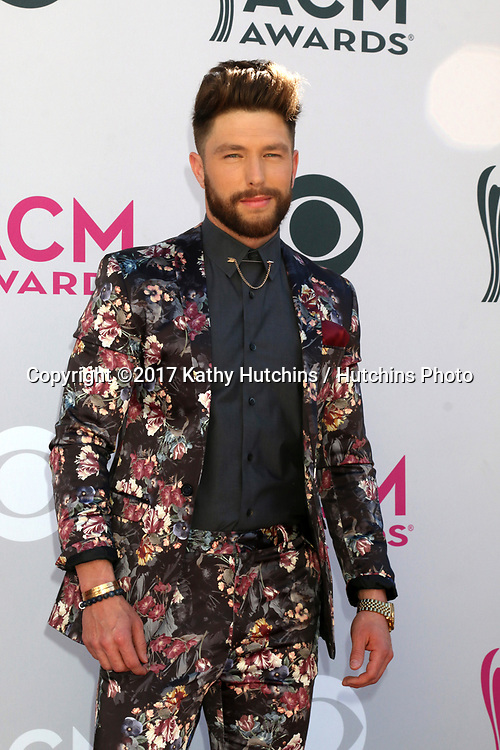 LAS VEGAS - APR 2:  Chris Lane at the Academy of Country Music Awards 2017 at T-Mobile Arena on April 2, 2017 in Las Vegas, NV