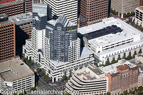 aerial photograph Rincon Plaza San Francisco, California