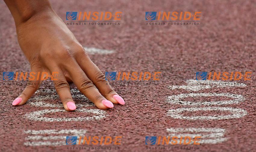 Cassandra TATE CAN 400m Hurdles Women <br /> Roma 02-06-2016 Stadio Olimpico <br /> IAAF Diamond League Golden Gala <br /> Atletica Leggera<br /> Foto Andrea Staccioli / Insidefoto