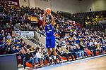 Frantz MASSENAT (#10 EWE Baskets Oldenburg) \ beim Spiel MHP RIESEN Ludwigsburg - EWE Baskets Oldenburg.<br /> <br /> Foto &copy; PIX-Sportfotos *** Foto ist honorarpflichtig! *** Auf Anfrage in hoeherer Qualitaet/Aufloesung. Belegexemplar erbeten. Veroeffentlichung ausschliesslich fuer journalistisch-publizistische Zwecke. For editorial use only.