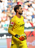 Torwart Kevin Trapp (Eintracht Frankfurt) zurück in Frankfurt - 01.09.2018: Eintracht Frankfurt vs. SV Werder Bremen, Commerzbank Arena, 2. Spieltag DISCLAIMER: DFL regulations prohibit any use of photographs as image sequences and/or quasi-video.