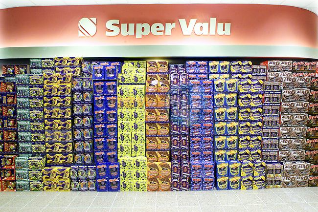 Super Valu Easter Eggs..Picture Paul Mohan Newsfile