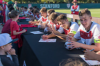 Stanford , CA - September 15, 2019: Stanford defeats the Eagles of American 3-0 in a Men's soccer game at Laird Q. Cagan Stadium.