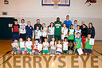 At the Team Kerry Basketball camp in Mounthawk gym on Friday