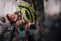post-race dissapointment for David Westhoff (DEU)<br /> <br /> Junior Men's Race<br /> UCI CX Worlds 2018<br /> Valkenburg - The Netherlands
