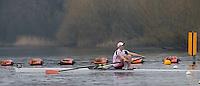 Caversham. Berkshire. UK<br /> Harry GLENISTER.<br /> 2016 GBRowing U23 Trials at the GBRowing Training base near Reading, Berkshire.<br /> <br /> Monday  11/04/2016 <br /> <br /> [Mandatory Credit; Peter SPURRIER/Intersport-images]