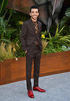 Justice Smith at the premiere for &quot;Jurassic World: Fallen Kingdom&quot; at the Walt Disney Concert Hall, Los Angeles, USA 12 June 2018<br /> Picture: Paul Smith/Featureflash/SilverHub 0208 004 5359 sales@silverhubmedia.com