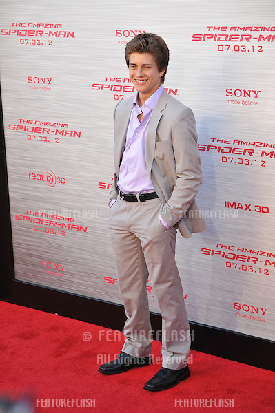 "Billy Unger at the world premiere of ""The Amazing Spider-Man"" at Regency Village Theatre, Westwood..June 29, 2012  Los Angeles, CA.Picture: Paul Smith / Featureflash"