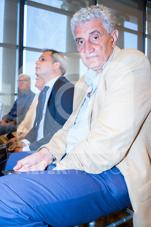 Fernando Romay former basketball player during the official presentation of Spanish National Team of Basketball.  July 24, 2019. (ALTERPHOTOS/Francis Gonzalez)