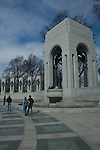 Washington D. C., Atlantic Arch, World War II Memorial