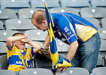 Coming to terms with the Clare loss at Croke Park. Photograph by John Kelly.