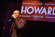 February 26, 2013  (Washington, DC)  Acclaimed jazz harmonist Frederick Yonnet plays a tribute to Stevie Wonder at the historic Howard Theatre in D.C. (Photo by Don Baxter/Media Images International)