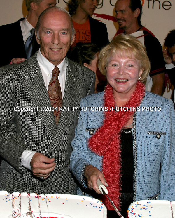 ©2004 KATHY HUTCHINS /HUTCHINS PHOTO.The Young and the Restless celebrates the taping of the 8000th show.Los Angeles, CA.SEPTEMBER 28, 2004...BILL AND LEE BELL