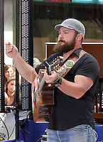 NEW YORK CITY, NY- July 13, 2012: The Zac Brown Band performs on NBC's Today Show Toyota Concert Series in New York City. © RW/MediaPunch Inc. /*NORTEPHOTO*<br />