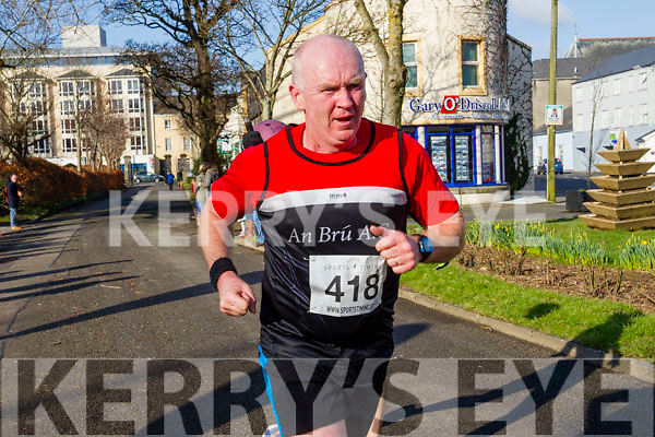 Cyril Power, pictured at the Kerry's Eye Valentines Weekend 10 mile road race on Sunday.