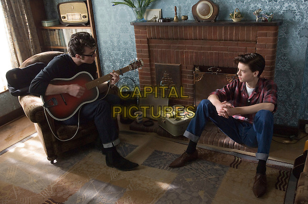 Aaron Johnson & Thomas Brodie Sangster.in Nowhere Boy .*Filmstill - Editorial Use Only*.CAP/PLF.Supplied by Capital Pictures.