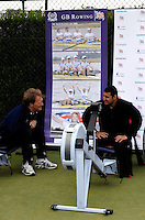 Queens Club, GREAT BRITAIN,  Powerlifter, Ali JAWAD, tries the Ergo, before the  press Conference to announce the joint initiative between British Paralympic Association and Deloitte  of 'www.Parasport.org.uk' online information service, on Thur's.  03.05.2007. London. [Credit: Peter Spurrier/Intersport Images]