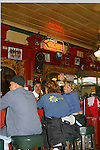 SMILING WOMAN at the FAMOUS HUSSONG's CANTINA GIVES a JOYFUL WAVE