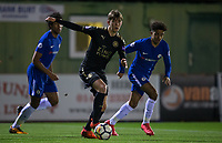 Connor Wood of Leicester City U23 Connor Wood of Leicester City U23 during the Under 23 Premier League 2 match between Chelsea U23 and Leicester City U23 at the Electrical Services Stadium, Aldershot, England on 2 February 2018. Photo by Andy Rowland / PRiME Media Images.