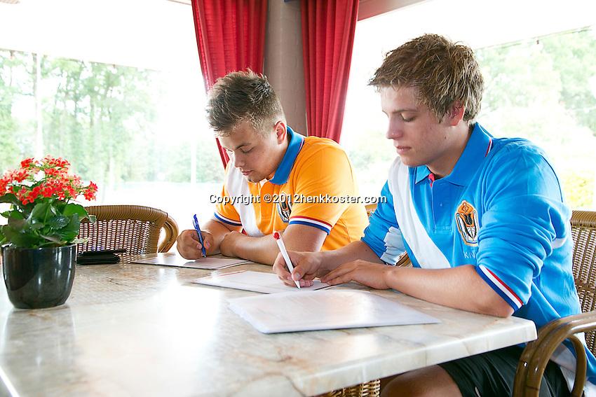 13-06-12, Netherlands, Amersfoort, Tennis, KNLTB fotoshoot