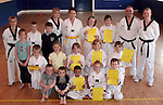 Sheild Taekwondo Club and Instructors...Photo NEWSFILE/Jenny Matthews.(Photo credit should read Jenny Matthews/NEWSFILE)....This Picture has been sent you under the condtions enclosed by:.Newsfile Ltd..The Studio,.Millmount Abbey,.Drogheda,.Co Meath..Ireland..Tel: +353(0)41-9871240.Fax: +353(0)41-9871260.GSM: +353(0)86-2500958.email: pictures@newsfile.ie.www.newsfile.ie.FTP: 193.120.102.198.