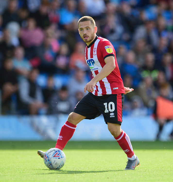 Lincoln City's Jack Payne<br /> <br /> Photographer Andrew Vaughan/CameraSport<br /> <br /> The EFL Sky Bet League One - Wycombe Wanderers v Lincoln City - Saturday 7th September 2019 - Adams Park - Wycombe<br /> <br /> World Copyright © 2019 CameraSport. All rights reserved. 43 Linden Ave. Countesthorpe. Leicester. England. LE8 5PG - Tel: +44 (0) 116 277 4147 - admin@camerasport.com - www.camerasport.com