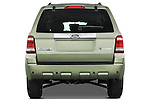 Straight rear view of a 2009 Ford Escape Hybrid