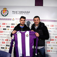 Valdet Rama is presented as new player of Real Valladolid Football Club in Zorrilla Stadium. January 31, 2013. (Alterphotos/Victos J Blanco) /NortePhoto