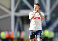 Preston North End's Alan Browne applauds the fans at the final whistle<br /> <br /> Photographer Rich Linley/CameraSport<br /> <br /> The EFL Championship - Preston North End v Sheffield Wednesday - Saturday August 24th 2019 - Deepdale Stadium - Preston<br /> <br /> World Copyright © 2019 CameraSport. All rights reserved. 43 Linden Ave. Countesthorpe. Leicester. England. LE8 5PG - Tel: +44 (0) 116 277 4147 - admin@camerasport.com - www.camerasport.com