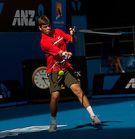 RYAN HARRISON (USA) against ANDY MURRAY (GBR) in the first round of the Men's Singles. Andy Murray beat Ryan Harrison 4-6 6-3 6-4 6-2 ..17/01/2012, 17th January 2012, 17.01.2012..The Australian Open, Melbourne Park, Melbourne,Victoria, Australia.@AMN IMAGES, Frey, Advantage Media Network, 30, Cleveland Street, London, W1T 4JD .Tel - +44 208 947 0100..email - mfrey@advantagemedianet.com..www.amnimages.photoshelter.com.
