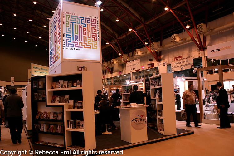 Turkey at the London Book Fair 2012