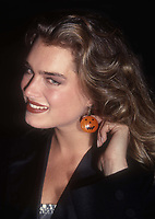 Brooke Shields 1990<br /> Photo By Adam Scull/PHOTOlink
