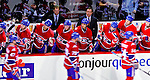 23 January 2010: The Montreal Canadiens celebrate a second period goal against the New York Rangers at the Bell Centre in Montreal, Quebec, Canada. The Canadiens shut out the Rangers 6-0. Mandatory Credit: Ed Wolfstein Photo