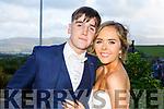 Evan Jones and Ciara Randles attending the Killarney Community College, St. Brendan's and St. Bridget's School debs in the Ballyroe Heights Hotel on Monday night.