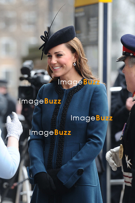 CATHERINE, DUCHESS OF CAMBRIDGE JOINS QUEEN AND DUKE AT BAKER STREET STATION.on the occasion of the anniversary of the London Underground, London_March 20, 2013.