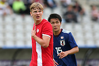Kristopher Twardek of Millwall and Canada U21's during Japan Under-21 vs Canada Under-21, Tournoi Maurice Revello Football at Stade Parsemain on 3rd June 2018