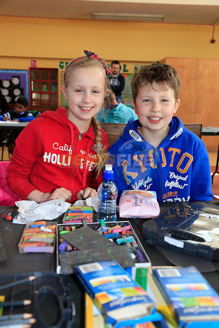 at the Community Games Art and Handwriting.<br /> Picture www.newsfile.ie