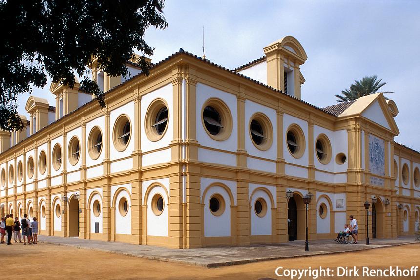 Spanien, Andalusien, königliche Reitschule in Jerez de la Frontera