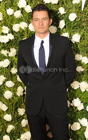 NEW YORK, NY - June 11: Orlando Bloom attends the 71st Annual Tony Awards at Radio City Music Hall on June 11, 2017 in New York City.@John Palmer / Media Punch