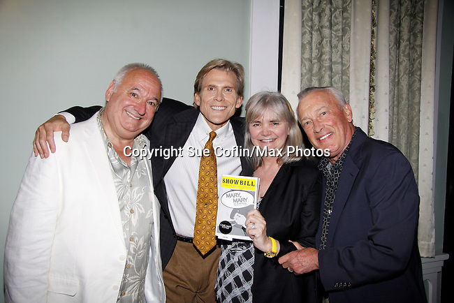 Guiding Light and All My Children Grant Aleksander stars in Mary, Mary and poses with wife Sherry Ramsey on opening night June 18, 2015 at Cape May Stage (Robert Shackleton Playhouse) in Cape May, New Jersey.  (Photos by Sue Coflin/Max Photos)