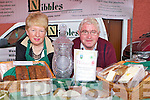 BEST STALL: Kathleen and Christy Leahy of Nibbles Food Emporium, West End, Millstreet who won the All Ireland Farmer Market competition for the best overall stand including presentation, best produce, best price and best iniatitive.