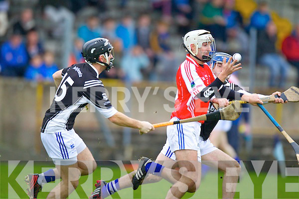 John Egan Saint Brendans in Action against  Ballina in the Munster Intermediate Club Semi-Final at Nenagh on Sunday.