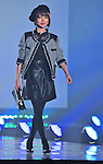 """Arie Mizusawa, Sep 14, 2013 : Tokyo, Japan : Arie Mizusawa walks the runway during the """"TOKYO RUNWAY 2013 Autumn/ Winter"""" in Tokyo, Japan on September 14, 2013. - BLONDY ReLISH"""