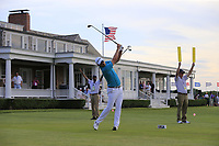 Justin Rose (ENG) tees off the 14th tee during Saturday's Round 3 of the 118th U.S. Open Championship 2018, held at Shinnecock Hills Club, Southampton, New Jersey, USA. 16th June 2018.<br /> Picture: Eoin Clarke | Golffile<br /> <br /> <br /> All photos usage must carry mandatory copyright credit (&copy; Golffile | Eoin Clarke)
